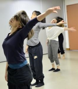 Sophie Mila cours de danse jazz au centre des Arts vivants 31 janvier 2015 photo Francine Bajande