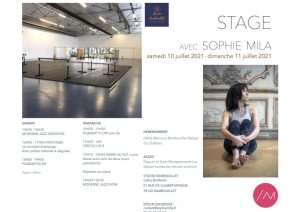 STAGE RAMBOUILLET flyer